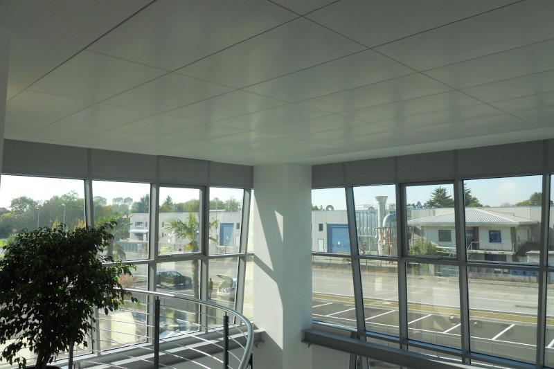 Impianto di riscaldamento con soffitti radianti plaforad Fraccaro