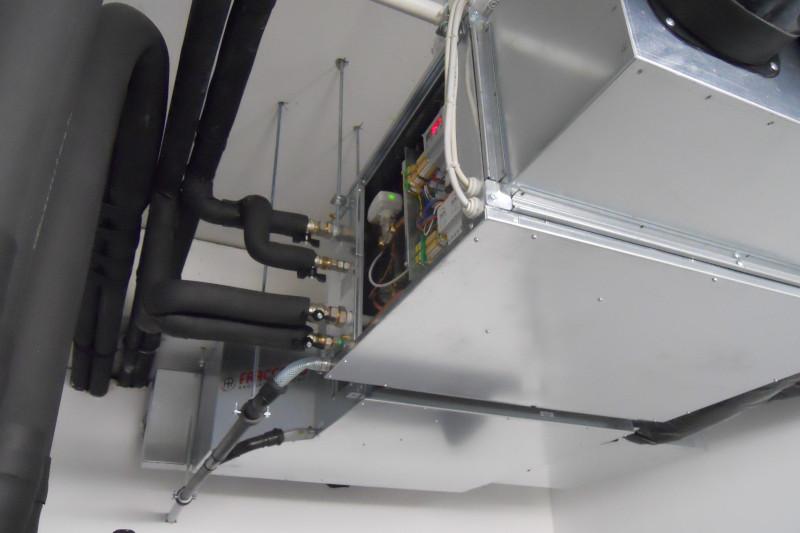 Impianto di riscaldamento plaforad Fraccaro installato presso la CMO di Pravisdomini