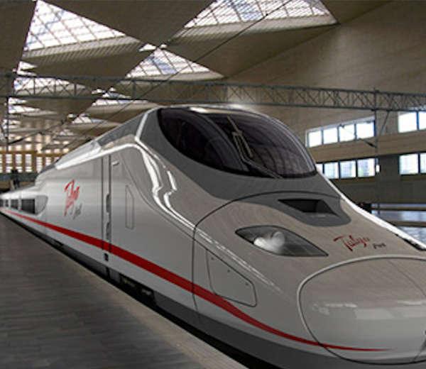 Talgo produzione treni riscaldata da nastri radianti Fraccaro