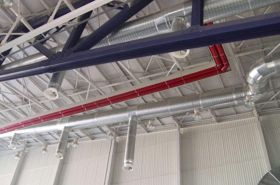 Circuito girad Fraccaro installato nell hangar Lufthansa in Bulgaria