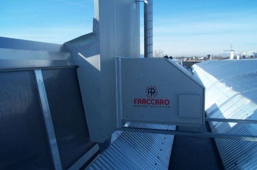 Girad Fraccaro installato nel capannone Cinel officine meccaniche Castelfranco Veneto