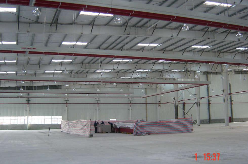Girad Fraccaro riscalda lo stabilimento della multinazionale Fuyao per la lavorazione del vetro in Cina