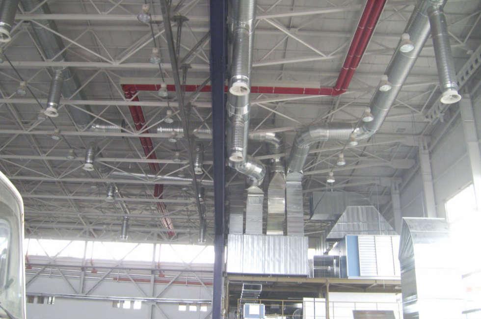 Nastri radianti girad ideali per il riscaldamento di grandi ambienti