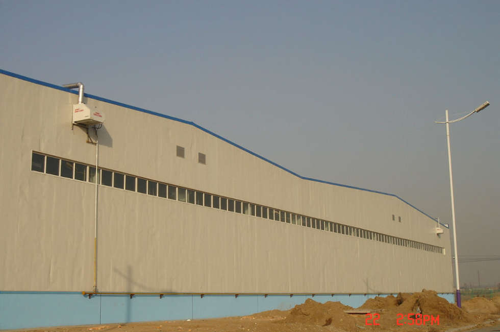 Stabilimento Inner Mongolia Sunnergy riscaldato con nastri radianti girad Fraccaro