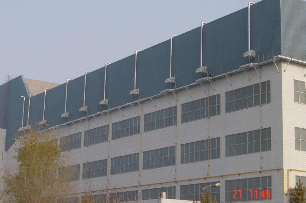 Stabilimento della compagnia aerea cinese Southern-Airlines riscaldato con nastri radianti girad