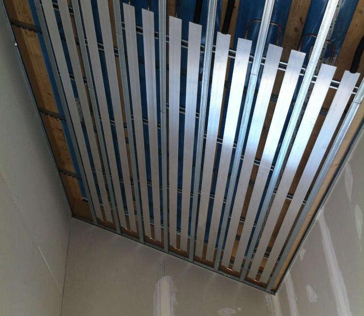 Struttura soffitto radiante plaforad GK Fraccaro