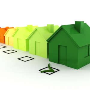 3d house green energy concept